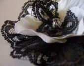 Lace and Petals Clip