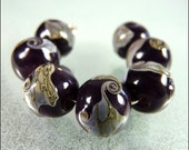 RESERVED LISTING for Deborah - Aubergine - by FinishingTouchJewels