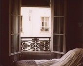 The Window - Fine Art Limited Edition Polaroid Giclee Print - Paris, France, Bedroom Decor