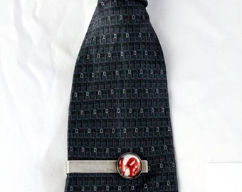 Clearance DISCONTINUED - Polaroid Tie Clip - Love - Great for Weddings, Groomsmen, Father of the Bride, Dad, Best Man, Dudes