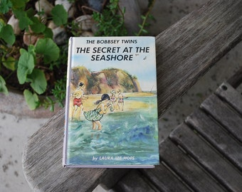 Vintage Book The Bobbsey Twins The Secret at the Seashore