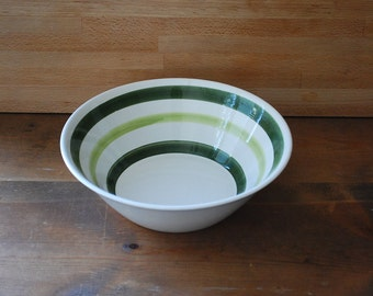 Vintage Armbee Ironstone Serving Bowl