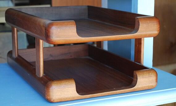 Mid Century Modern Eames Style Desk Tray