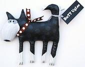 Sled Dog  Named Alpo ...LooKs great with Eskimo ... WhimsicaL WaLL ArT