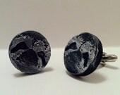 30% OFF SALE - Handmade Ceramic Stoneware Sloth Face Cufflinks