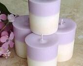 4 Soy Votive Candles BLACK RASPBERRY VANILLA Black Mountain Candles