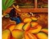 4 Coco Mango Soy Wax Tarts Melts Black Mountain Candles