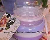 Triple Layer Handmade Soy Candle- Spring Fling Lavender Lily and Fresh Cut Lilacs
