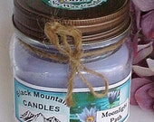 Moonlight Path Soy Candle by Black Mountain Candles 8 ounces