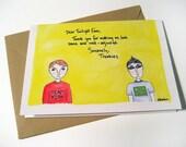 Dear Twilight Fans - Greeting Card