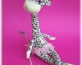 Celia, the Super Silly Sock Giraffe