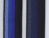 Suspender ELASTIC  Navy 2 yards Ribbon 1 inch Non Roll