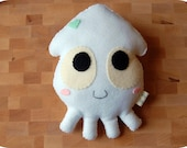 Baby Squid Plush Toy / Eco Friendly Stuffed Toy