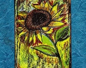 Sunflower Adoration...ACEO