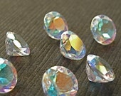 Faceted Gemstones Topaz Mercury Mist Diamond Cut AAA 6mm FOR ONE