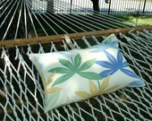 SALE Hammock Pillow Cool Palms Adjustable  Large Size