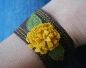 custom chrysanthemum cuff