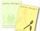Customized Necklace Card Design