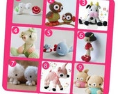 Special Deal - Amigurumi Patterns - Purchase 5 and Get 1 for Free
