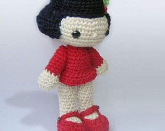 Amigurumi Crochet Pattern - Vicky the Doll