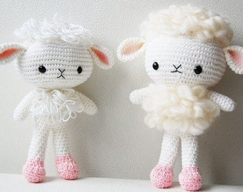 Amigurumi Pattern - Cloudy the Lamb