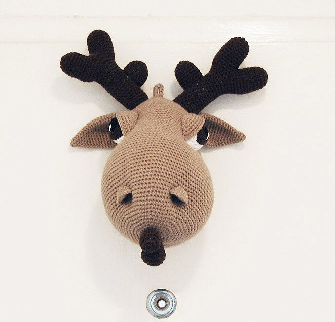 Holland Designs / Moose A. Moose Crochet Pattern PDF