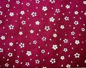 Beautiful Japanese Cotton Fabric-Cherry Blossoms Half Yard (F233)
