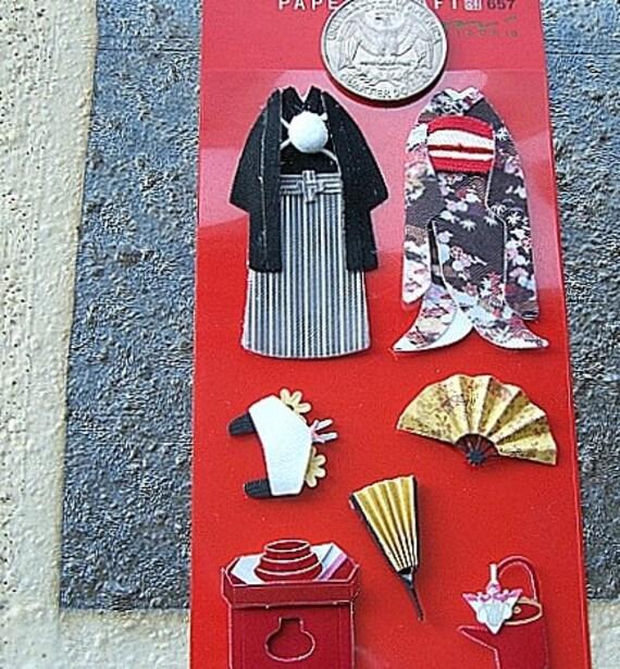 Beautiful Japanese Kimono  Embellishments