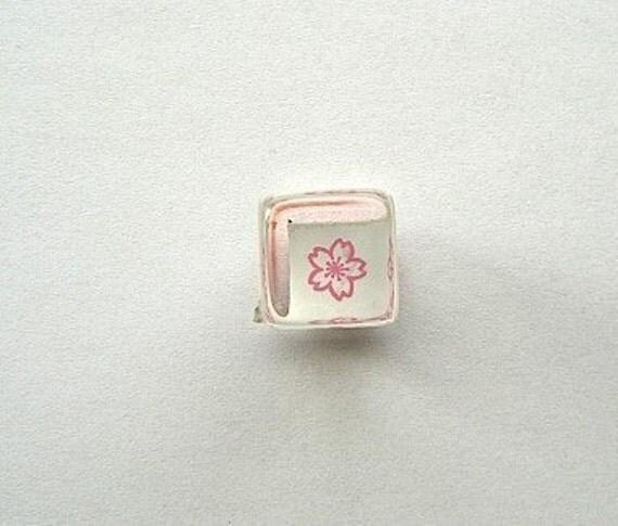 Cute Japanese Rubber Stamp Cute Cherry Blossom Mini Mini Size