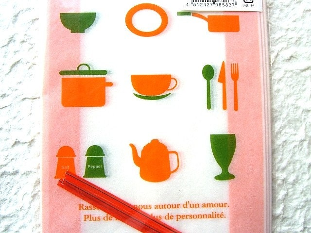 Cute Japanese Gift Bags Kitchen Utensils