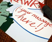 Mister Monster Postcard -- Your Message -- Set of 5