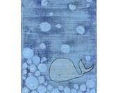 Whale 5x7 Print