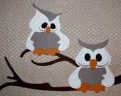 Snowy Owls Paper Piecing (Custom for Charlotte)