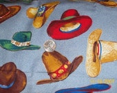 Tex-Mex Hats Fabric