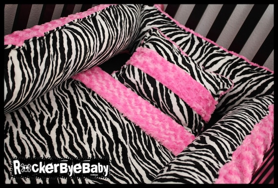 Items Similar To Custom Four Piece Minky Crib Bedding Set Leopard Giraffe Zebra Paisley Polka