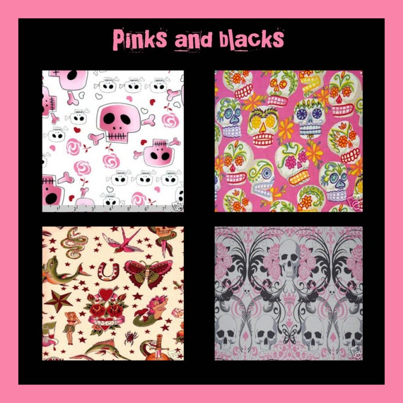 Custom Punk Baby Bedding Crib Set You Choose The Designer
