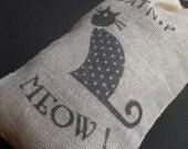 Organic Catnip (Cat Nip) Loose in a Hand Stamped Bag