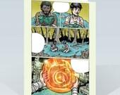 Apocalypse card by Ezra Claytan Daniels