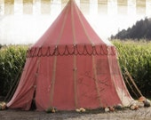 Antique Circus Sideshow Tent Photography Print 8x10