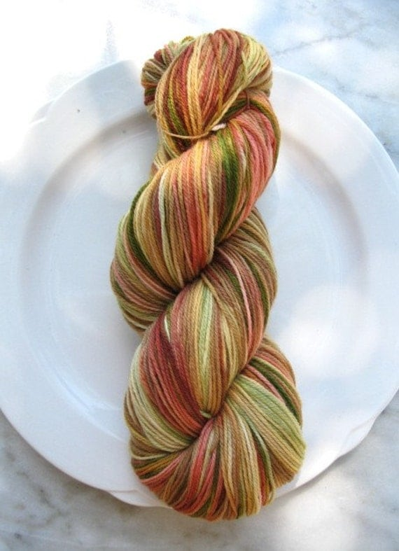 SPRING HAS SPRUNG - SUPERWASH MERINO - 3 PLY SOCK-FINGERING WT YARN