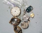 STEAMPUNK DESTASH- Watch Parts SET 4- Lots of pieces and parts