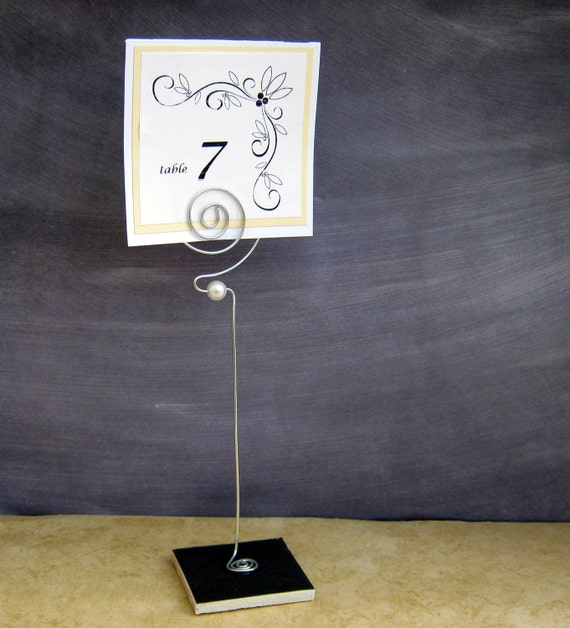 Amazon.com: Oneida J0065001A Opera S/S Table Number Card ...  |Reserved Table Sign Holder