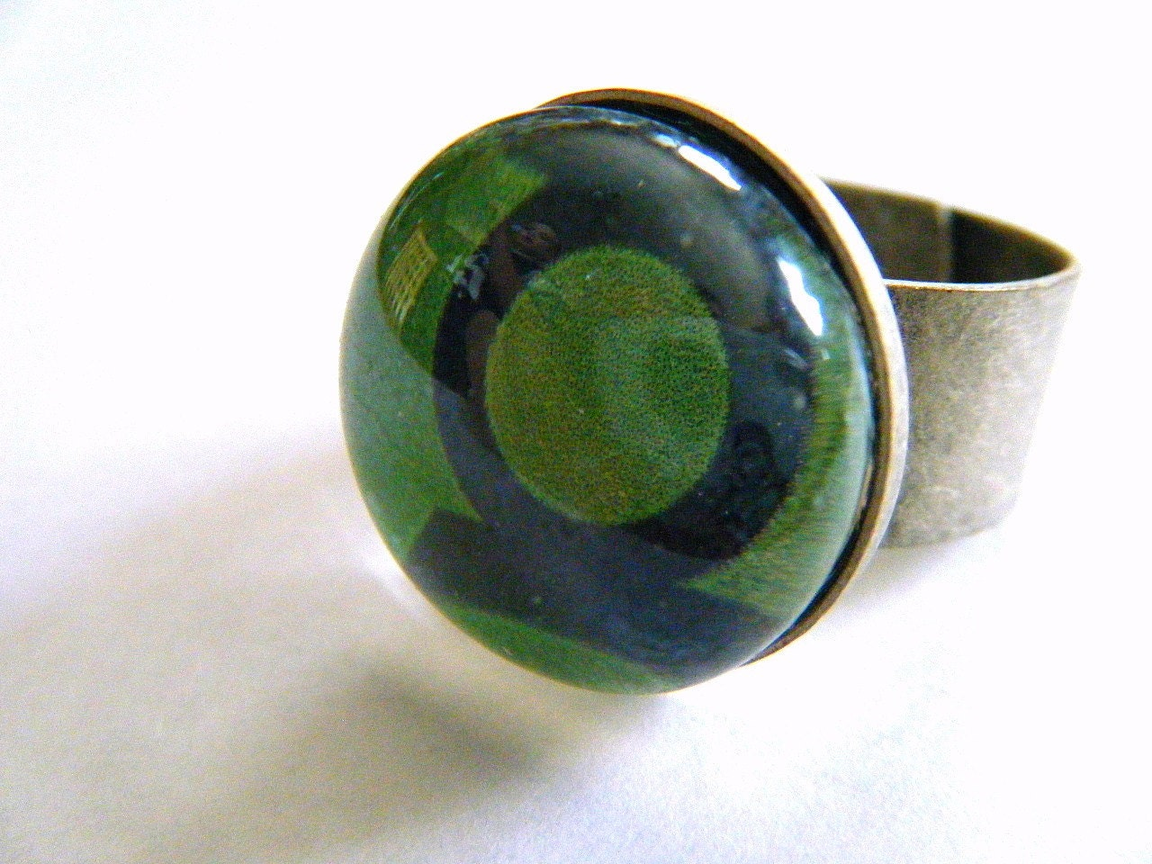 Lantern Corps comic book inspired rings GREEN by lucie39 ...