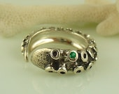 Emerald Tentacle Ring