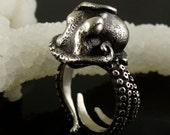 SALE - Kraken Octopus Ring OctopusME Miyu Decay Collaboration