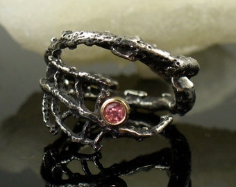 Sea Fan Web Stacking Rings