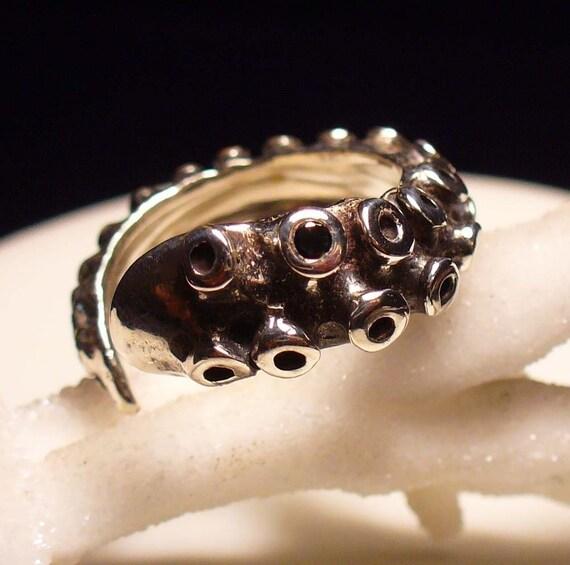 SALE - Black Diamond OctopusMe Tentacle Ring