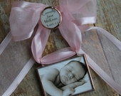 Custom Photo New Baby Keepsake-Custom Christmas Ornament- Newly Engaged -First Married Christmas Ornament as Mr. & Mrs.