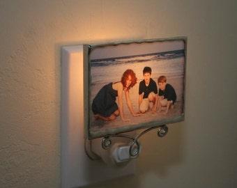 Custom Photo Night Light, Photo Nightlight, Personalized Photo Night Light, New Mom Gift, Photo Lamp