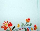aceo - ooak - original watercolor - scandinavian design